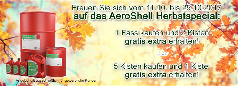 Shell Herbstaktion 2017
