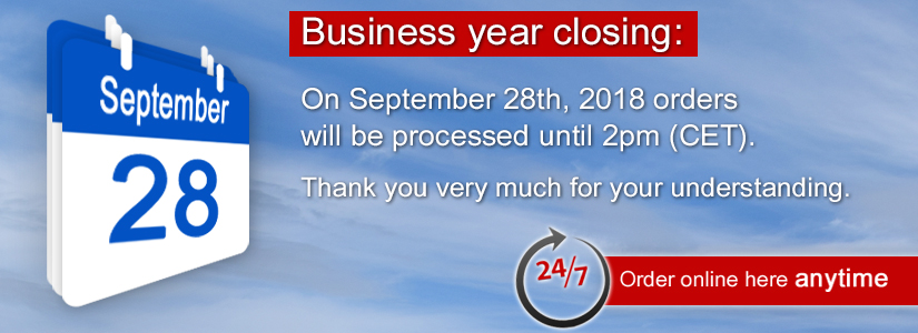 Business Year Closing 2018