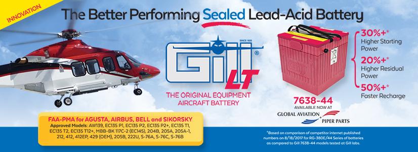 Gill Battery Feb 18 Promo